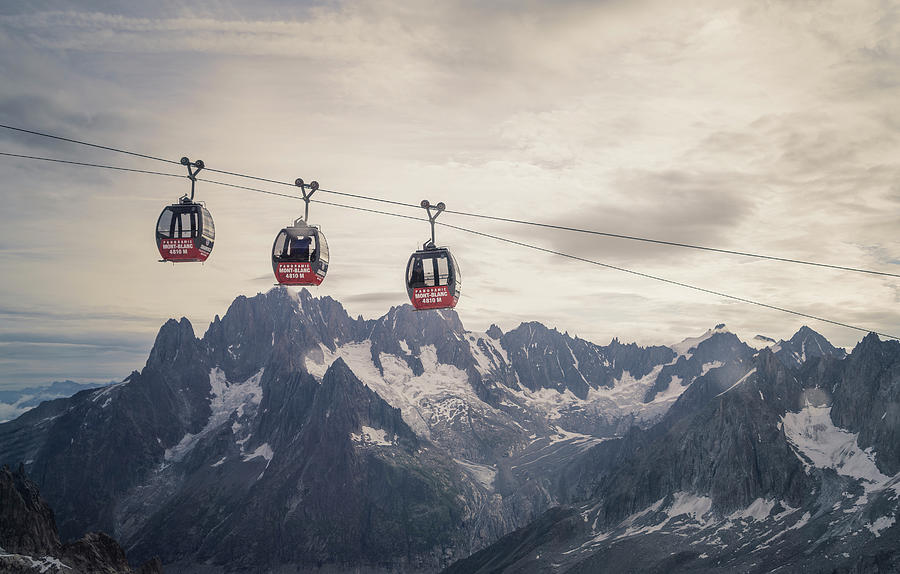 Cable Car In The Alps Photograph by Buena Vista Images