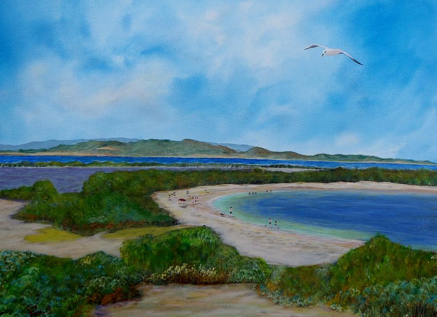 Cabo Rojo Seascape Painting