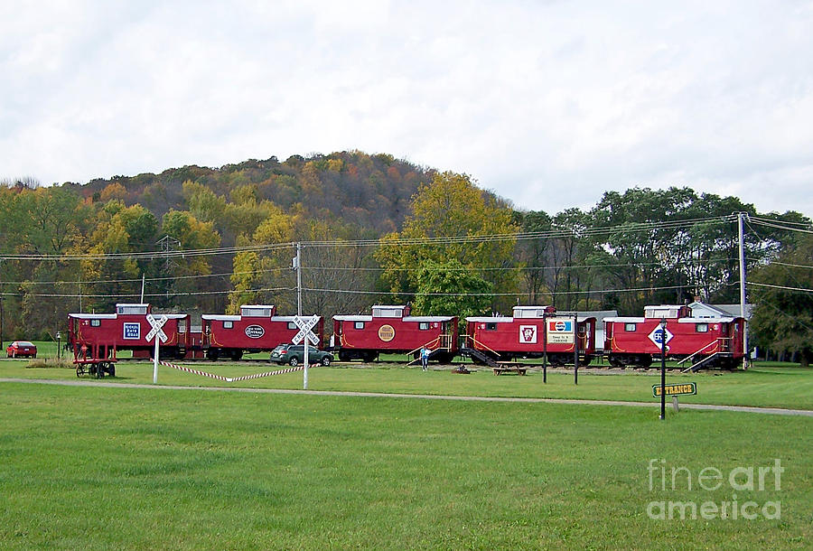Cabooses in Upstate New York by Tom Doud