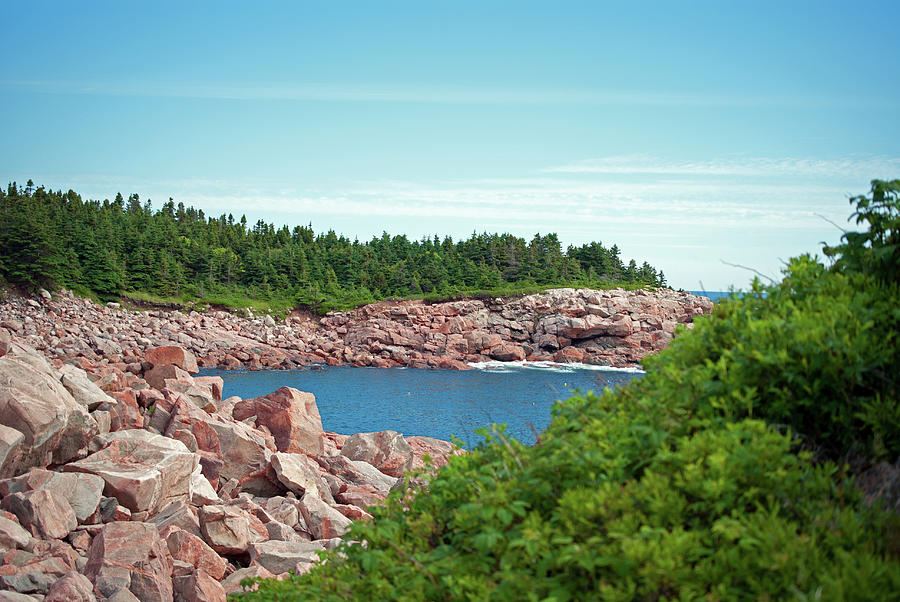 Scenic Photograph - Cabot Trail Coastline by Andalib