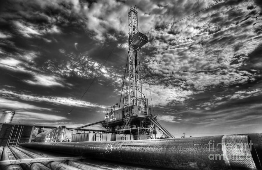 Oil Rig Photograph - Cac001-6 by Cooper Ross
