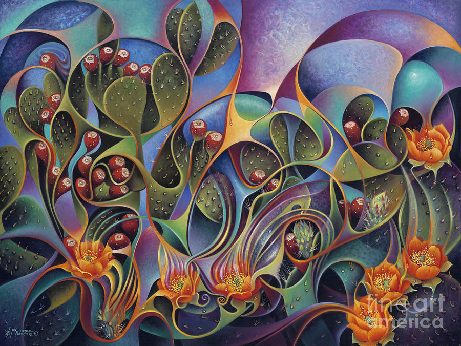 Cactus Dinamicus 3D by Ricardo Chavez-Mendez