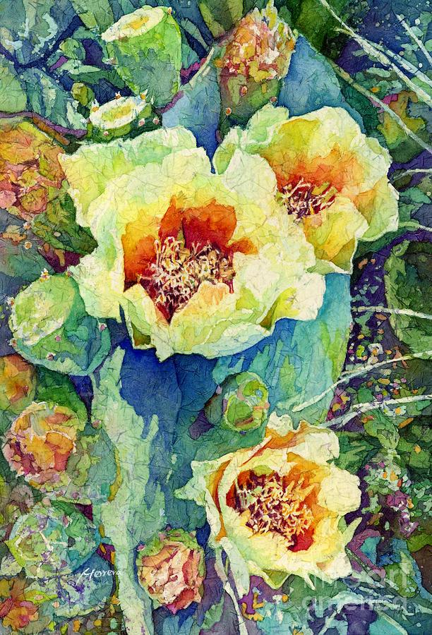 Cactus Splendor II Painting