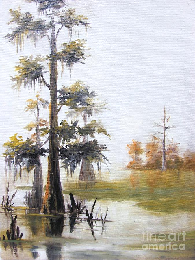Caddo Lake Painting - Caddo Lake II by Barbara Haviland