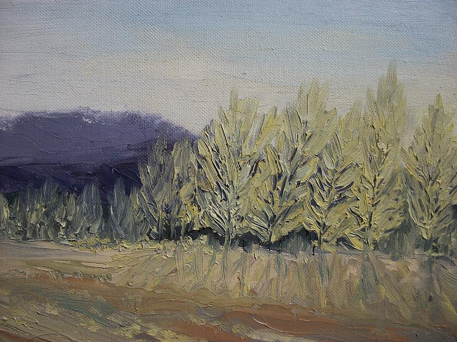 Oil Painting - Cades Cove by Dwayne Gresham
