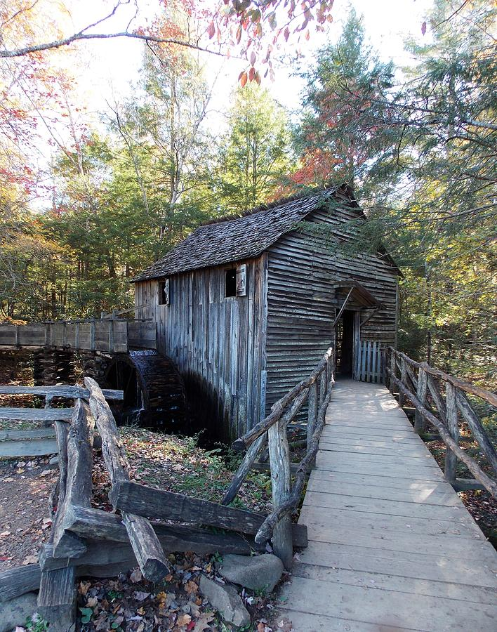 Cades Cove Mill In The Fall Photograph by Regina McLeroy