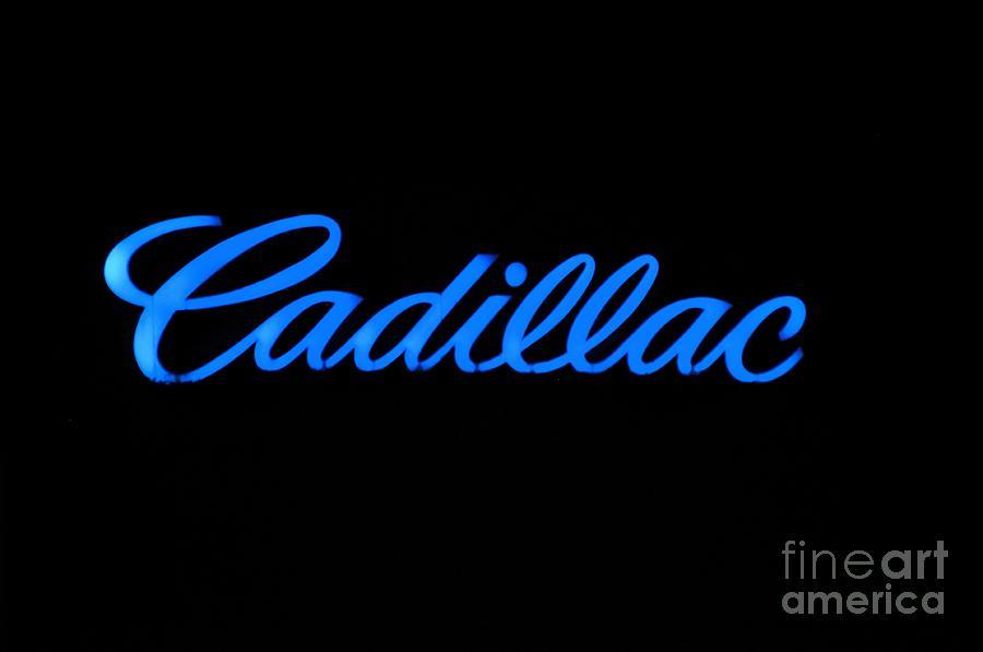 Logo Photograph - Cadillac by Andres LaBrada
