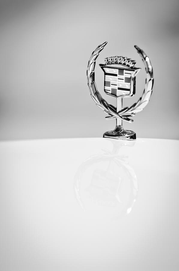 Classic Cars Photograph - Cadillac Hood Ornament by Jill Reger