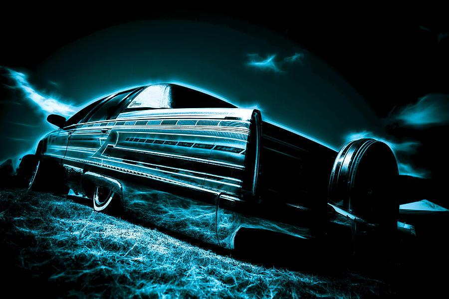 Cadillac Photograph - Cadillac Lowrider by motography aka Phil Clark