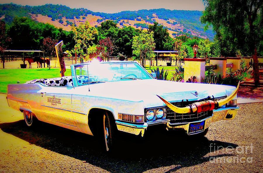 Vintage Photograph - Cadillac Supreme by Jodie  Scheller