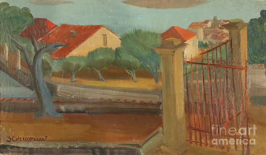 Russia Painting - Cagnes-sur-mer by Celestial Images