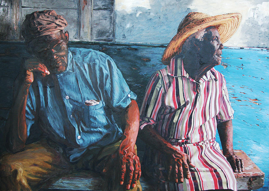 Caicos Painting - Caicos Time by John Matthew