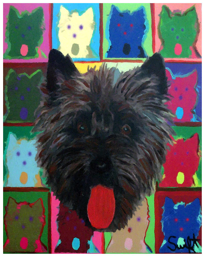 Cairn Terrier Painting - Cairn Terrier by Char Swift