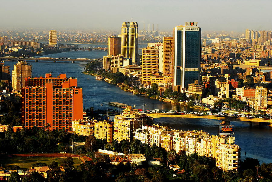 Cairo Photograph - Cairo From Above by Chaza Abou El Khair