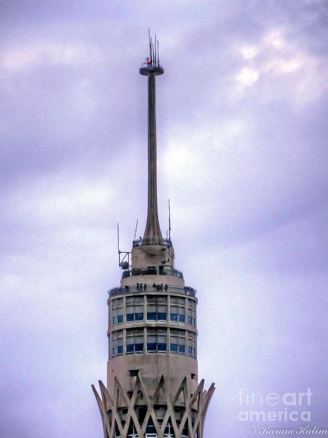 Photograph - Cairos Gazira  Tower  by Karam Halim