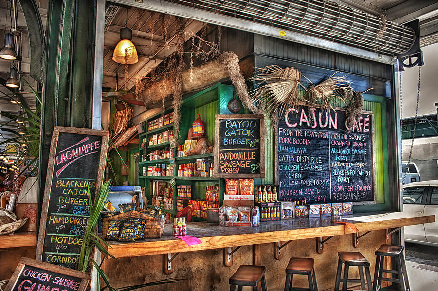 New Orleans Photograph - Cajun Cafe by Brenda Bryant
