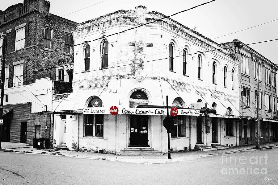 Cafe Photograph - Cajun Corner Cafe by Scott Pellegrin