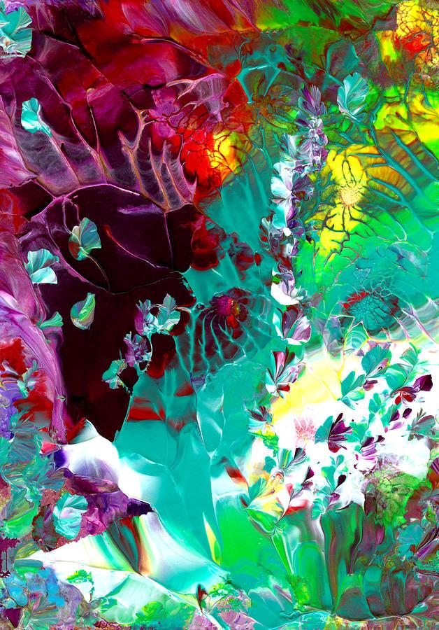 Original Painting Painting - Cajun River Wild by Nan Bilden