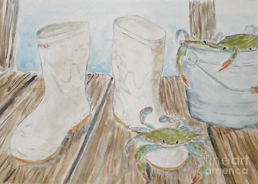 Still Life Painting - Cajun Style by Katie Spicuzza