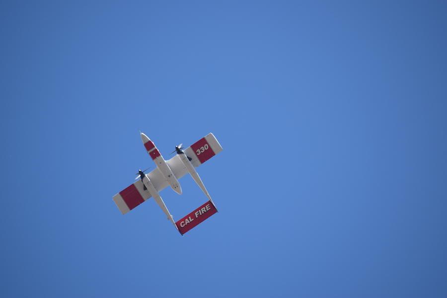 Cal Fire Photograph - Cal Fire Bronco by Steve Scheunemann