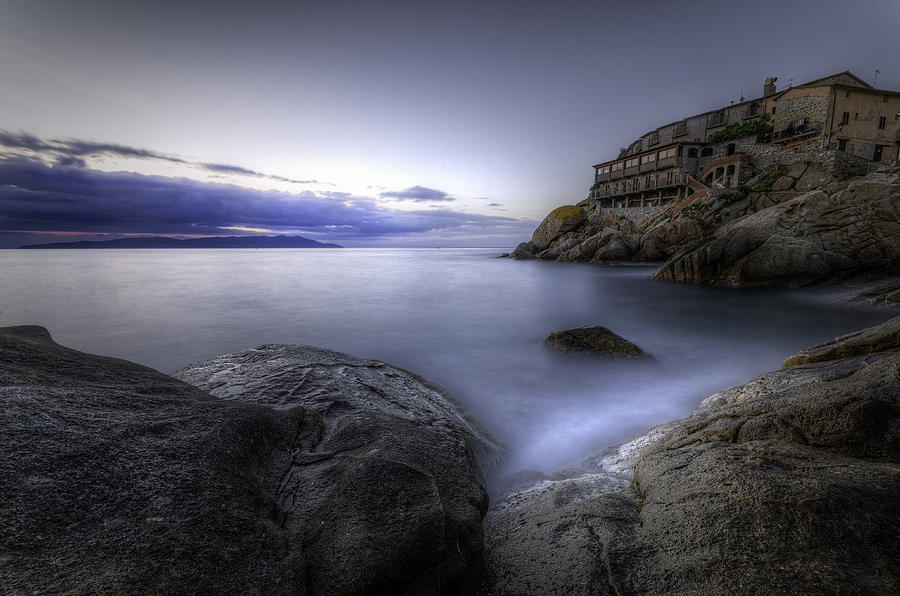 Sea Photograph - Cala Del Saraceno by Tommaso Di Donato