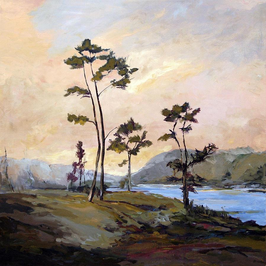 Carolina Painting - Calabash River by J R Baldini
