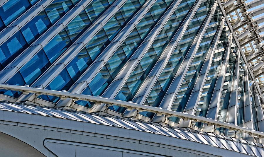 Calatrava Photograph - Calatrava In The Morning by Mary Machare