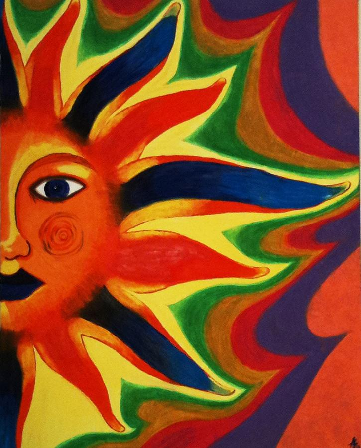 Sun Painting - Calcutta Summer by Drew Shourd