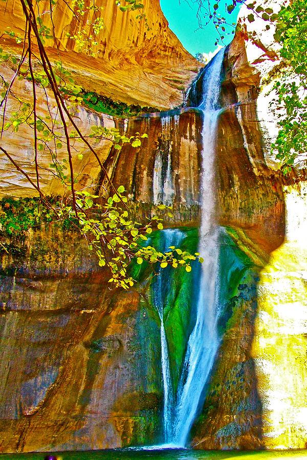 Desert Oasis - Desert Oasis Lower Calf Creek Falls Grand