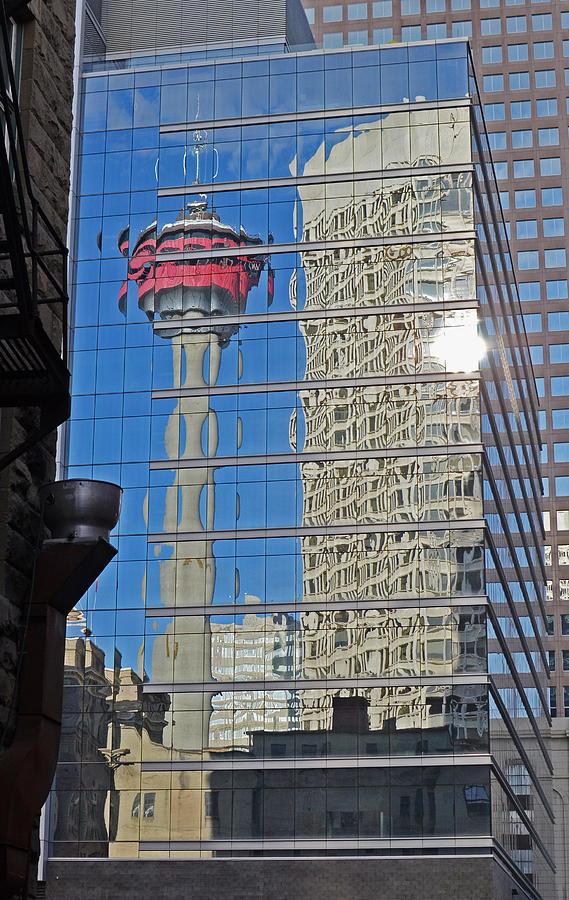 Tower Photograph - Calgary Tower by Melissa Schumacher