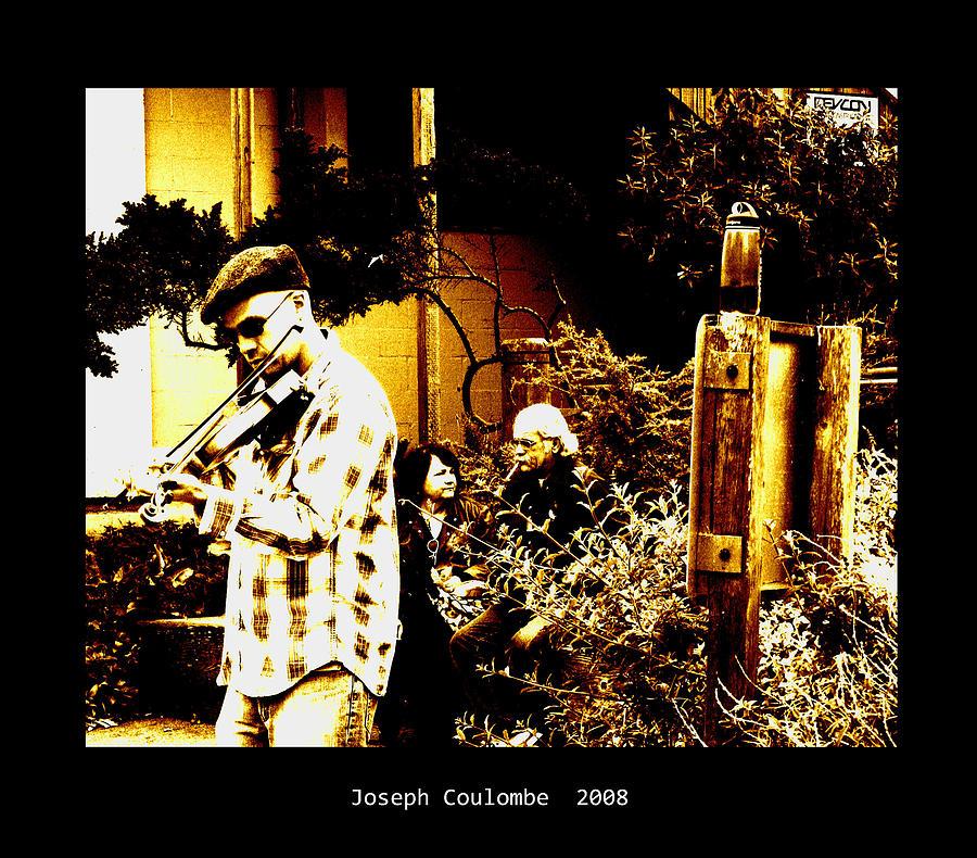 California Digital Art - California Street Music by Joseph Coulombe