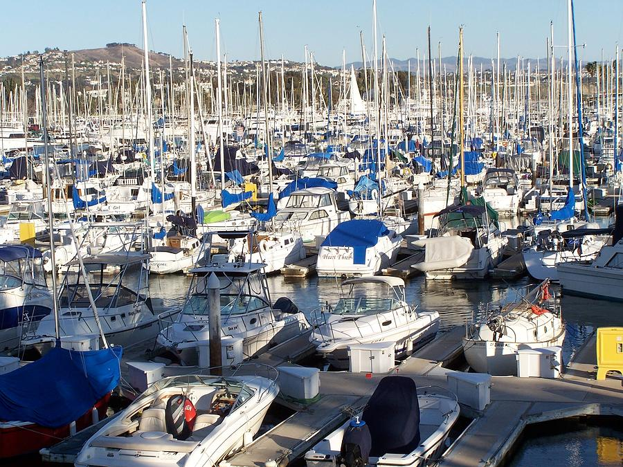 California Boat Harbor Photograph by Dianne Stopponi
