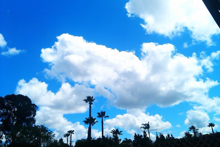 California Clouds Digital Art by Susan Mumma