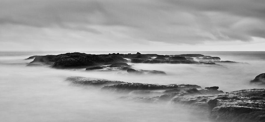Ocean Photograph - California Coast Long Exposure In The Morning by Andrew Raby