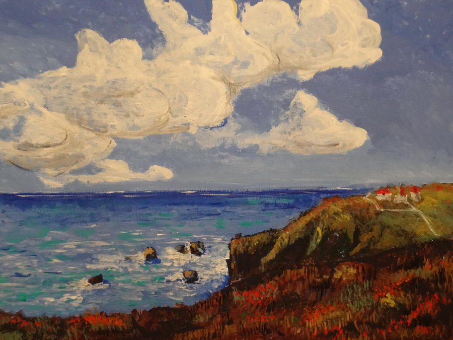 Impressionism Painting - California Coast by Paul Benson