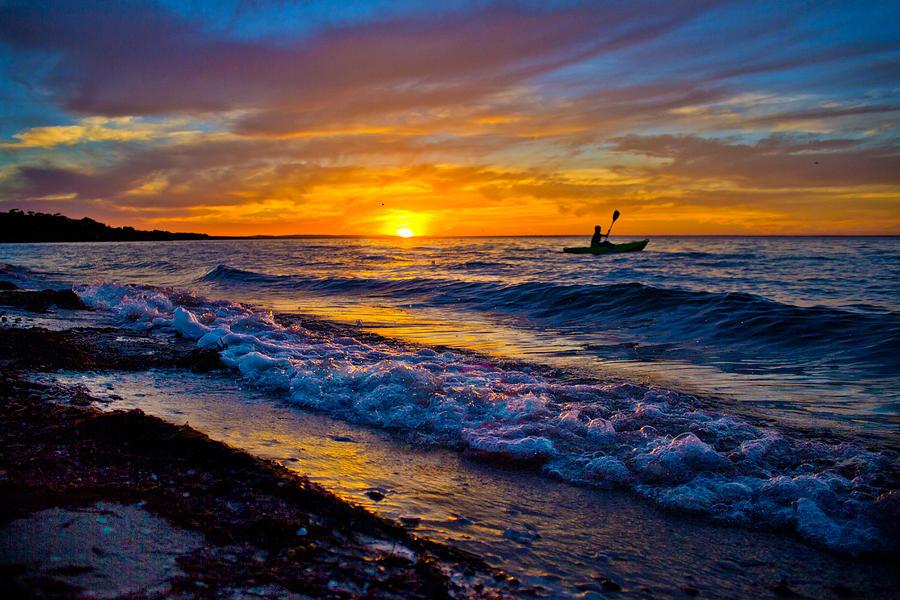 Ocean Photograph - California Dreamin by Mamie Thornbrue