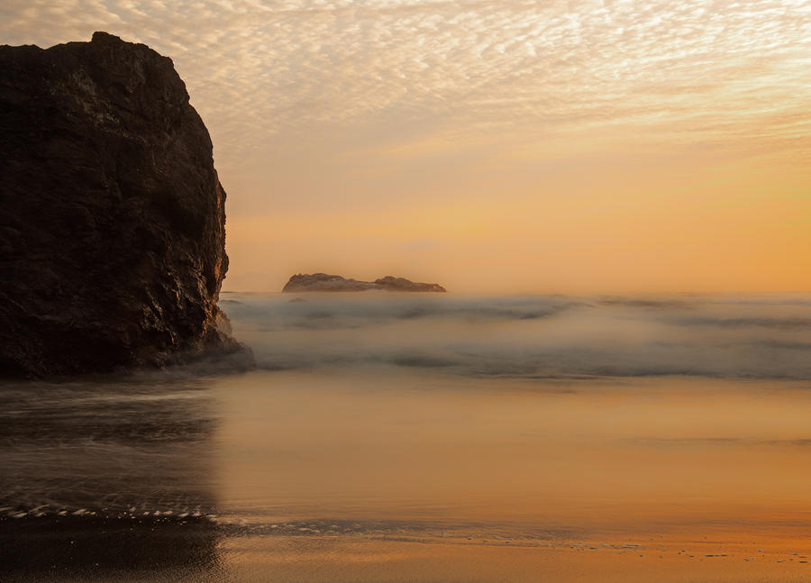 Sunset Photograph - California Gold by Mark Alder