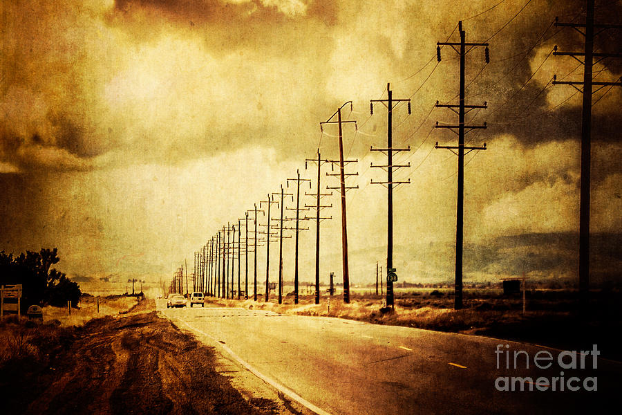 America Photograph - California Highway by Pam Vick