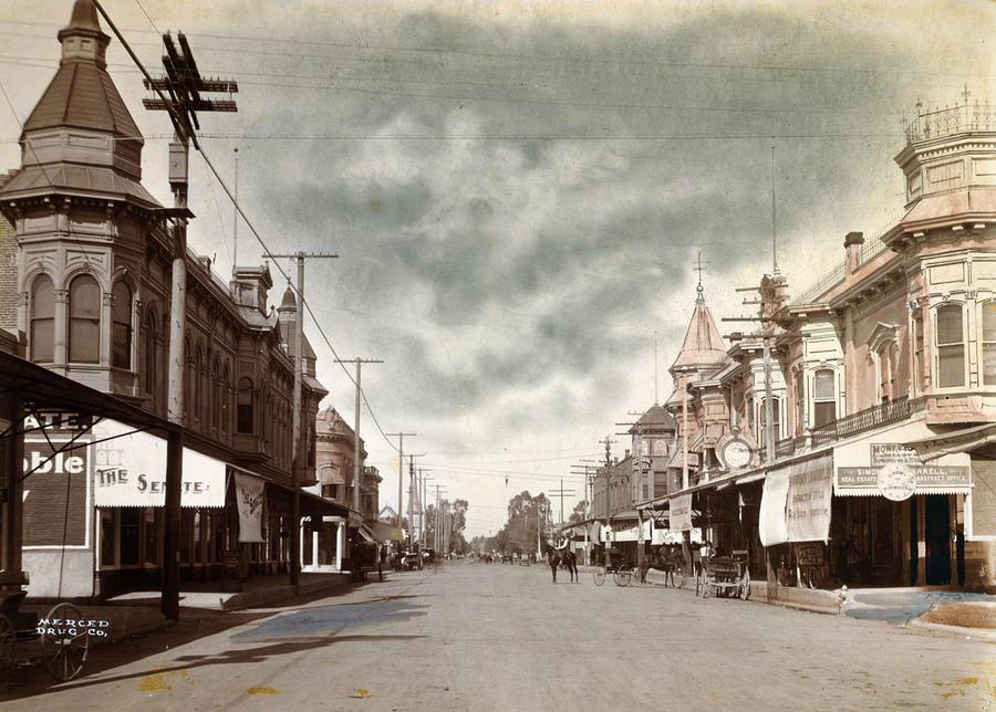 1890s Photograph - California Merced, C1890 by Granger