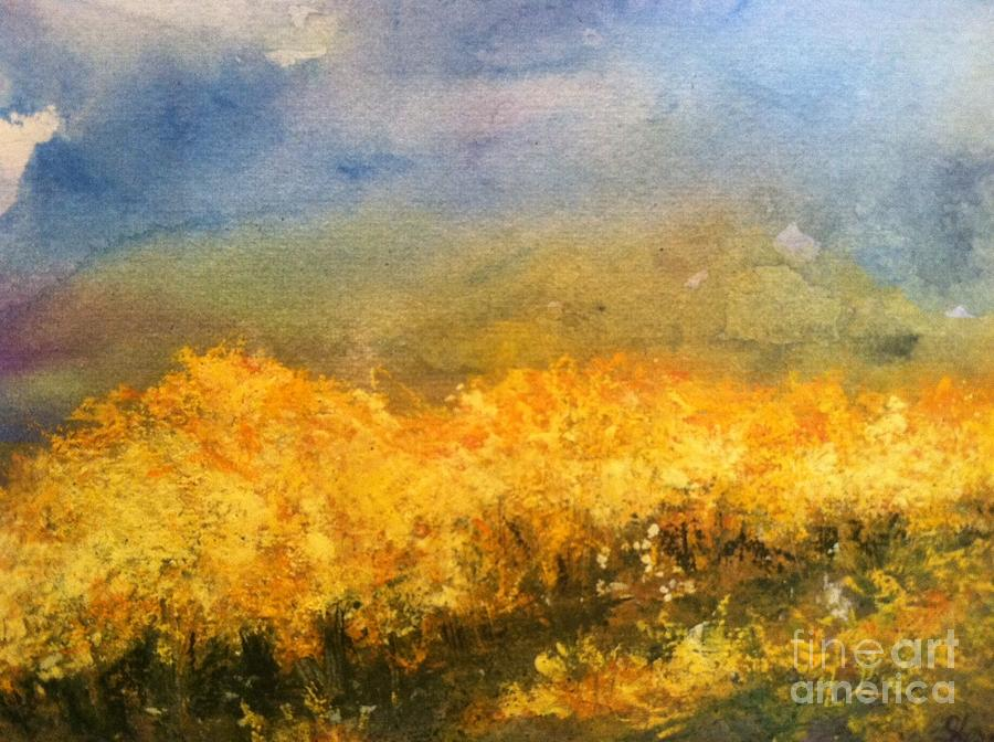Orchards Painting - California Orchards by Sherry Harradence