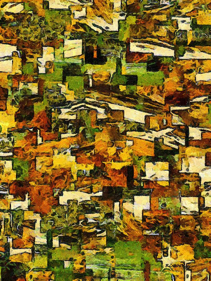 Abstract Painting - California by RC deWinter