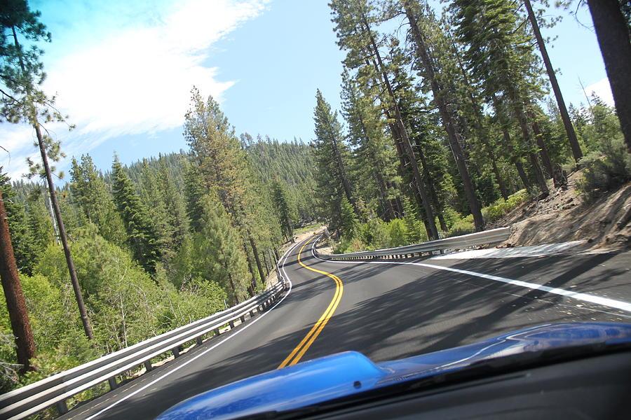 American Photograph - California Road by Dean Drobot