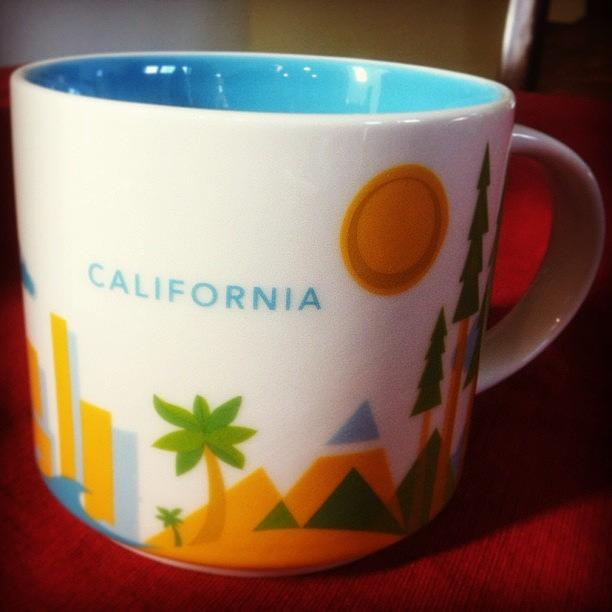 California Starbucks You Are Here Photograph By Denise Noble