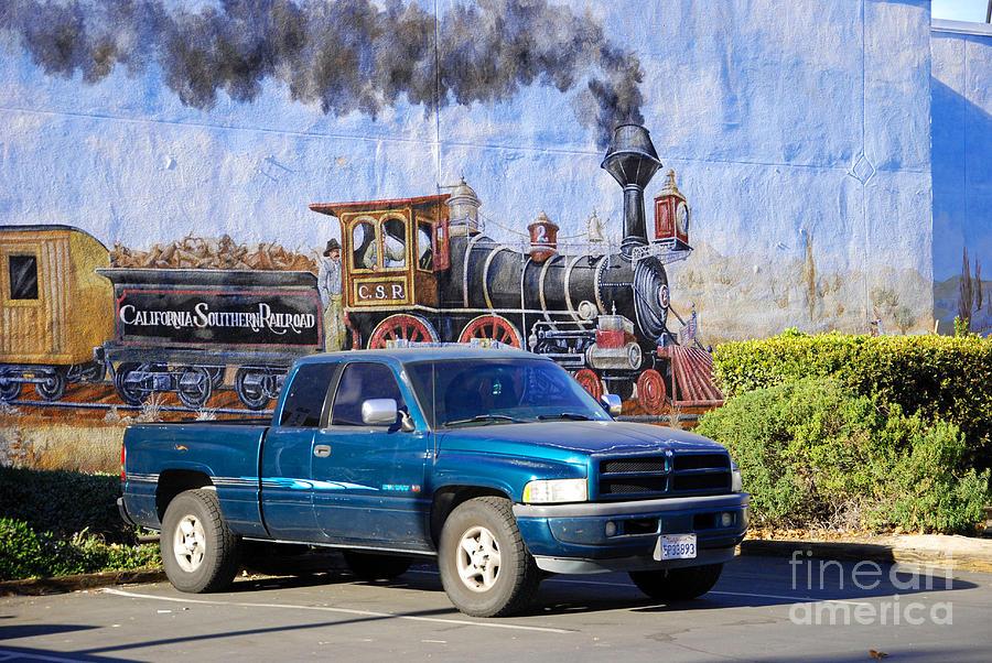 Locomotive Photograph - California Steamin by Andrea Simon