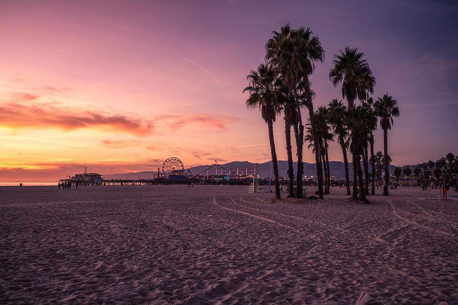 California Sunset At The Beach Photograph by Dennis Fischer Photography