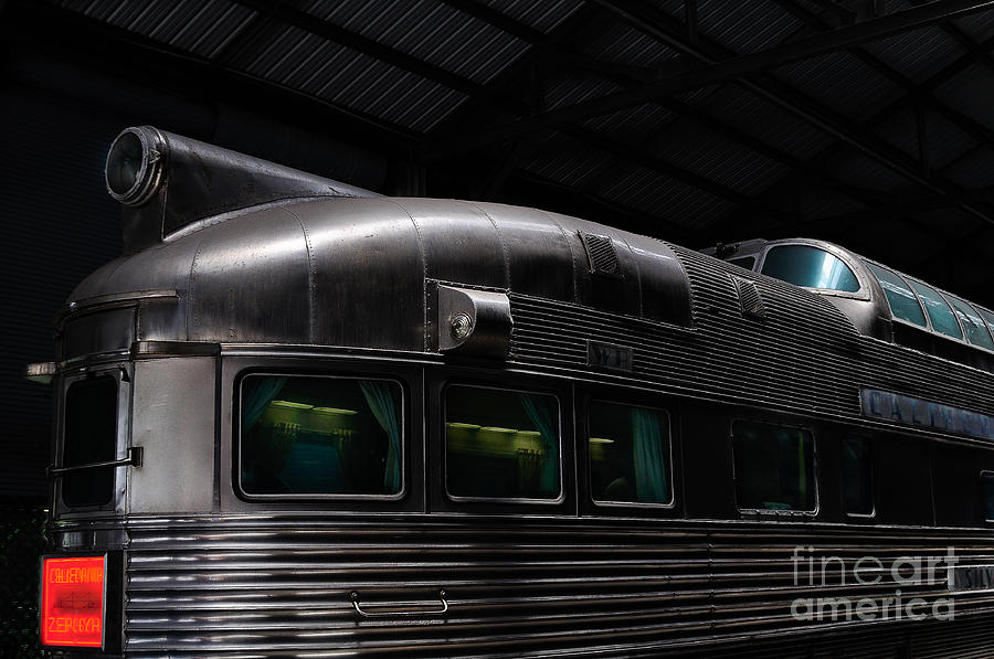 Railroad Photograph - California Zephyr by Andres LaBrada