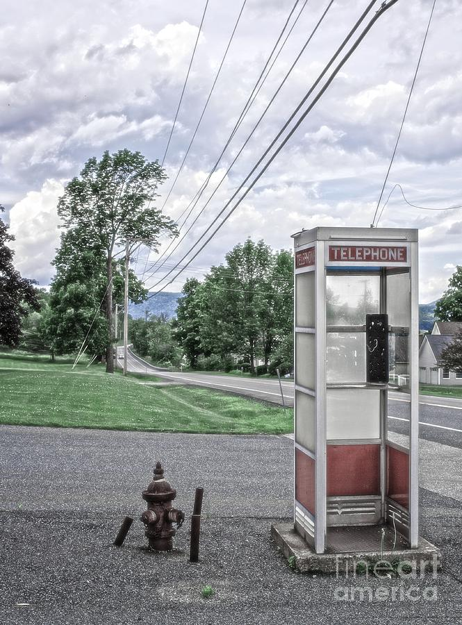 Vintage Photograph - Call Me When You Get There by Edward Fielding
