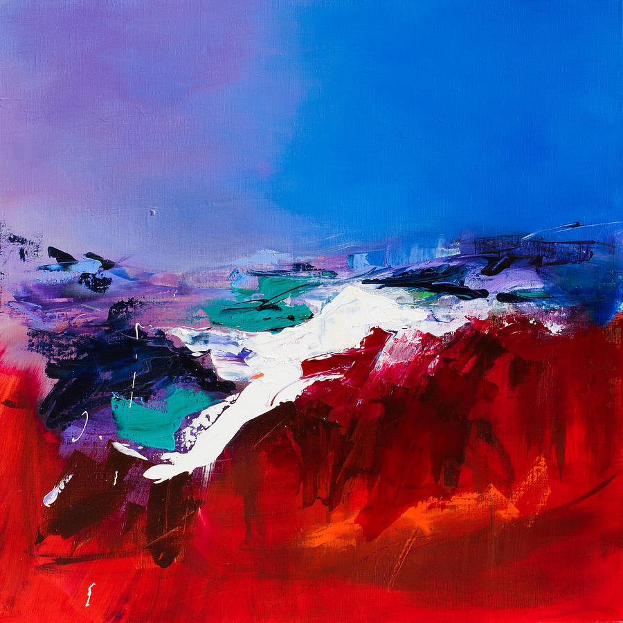 Abstract Painting - Call Of The Canyon by Elise Palmigiani