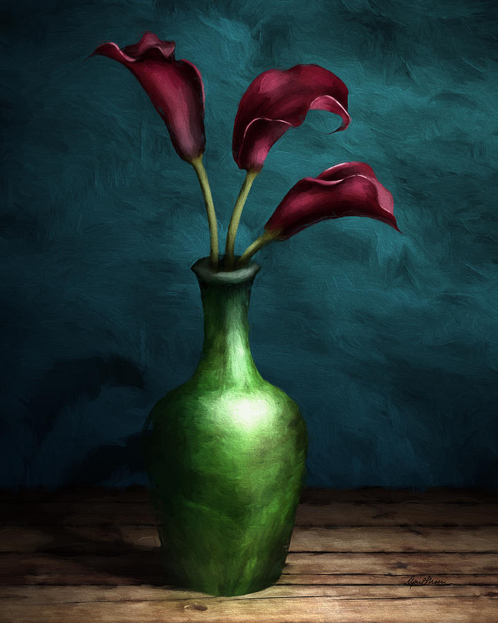 Calla Lilies I by April Moen