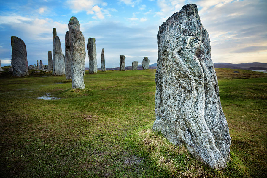 Prehistoric Era Photograph - Callanish Standing Stones, Isle Of Lewis by Theasis